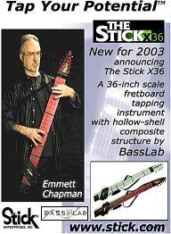 Announcing the Stick X36 - a collaboration between BassLab and Stick Enterprises